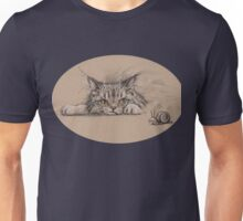 Contemplating Pursuit Unisex T-Shirt