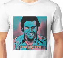 Stylized Pablo Escobar Mugshot Unisex T-Shirt