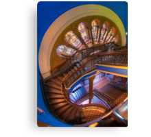 The Grand Staircase, Queen Victoria Building, Sydney Canvas Print