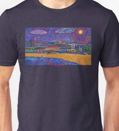 Bondi Beach Art Unisex T-Shirt