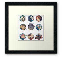 Studio Ghibli Movies Framed Print