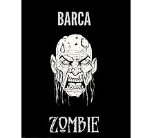 Barca Zombie Photographic Print