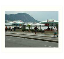 Posto 6, Copacobana beach Art Print