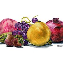 Fruit  Still Life by Steven Torrisi