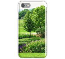 English Countryside - Hyde Hall, Essex iPhone Case/Skin