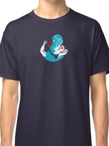 Blue Girlie Classic T-Shirt