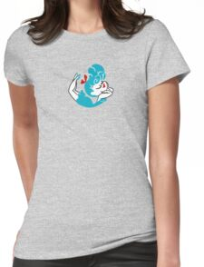 Blue Girlie Womens Fitted T-Shirt