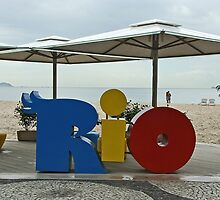 Copacobana Beach, Rio by Maggie Hegarty