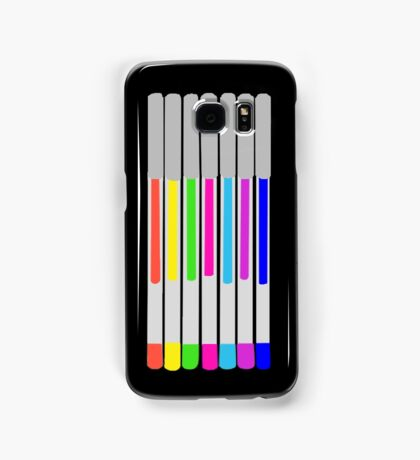 Gel Pens! Samsung Galaxy Case/Skin