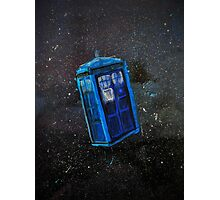 Lost TARDIS Photographic Print