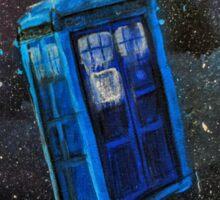 Lost TARDIS Sticker