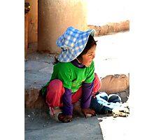 Little girl  Photographic Print
