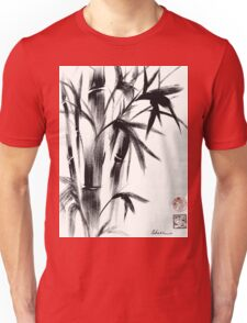 Compassion - Original Zen Spiritual Bamboo painting dedicated to the Dali Lama Unisex T-Shirt