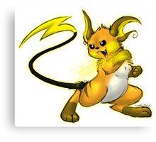 Pokemon: Raichu Canvas Print