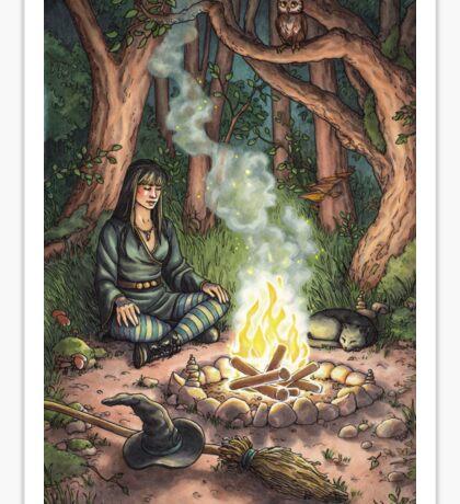 Everyday Witch Tarot - The Hermit Sticker