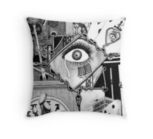 A Cacophony of Intrusive Thoughts Throw Pillow