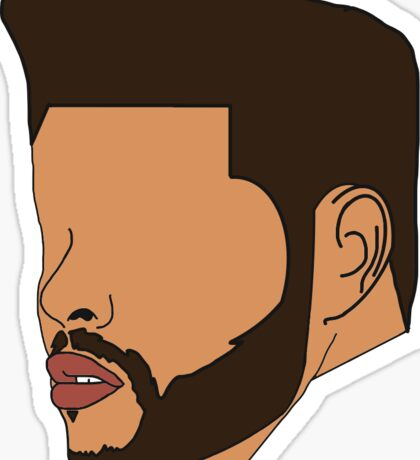 Eyeless Weeknd Sticker