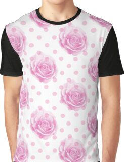 Pretty pink rose pattern Graphic T-Shirt