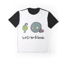 Let's Be Friends Graphic T-Shirt
