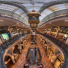 Queen Victoria Building - ultrawide perspective by Erik Schlogl