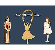 The ballet rats Photographic Print