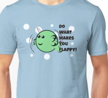 Flappy Narwhal Unisex T-Shirt