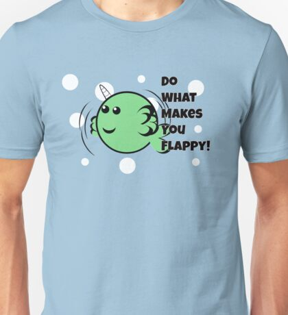 Flappy Narwhal T-Shirt