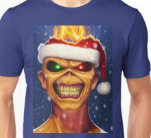 ALE08 Iron Maiden  the book of souls XMAS Unisex T-Shirt