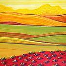 PERFECT PASTELS- VIVID LANDSCAPE  by Georgie Sharp