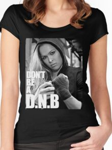 ronda rousey Women's Fitted Scoop T-Shirt