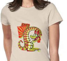 Magicant Dragon Womens Fitted T-Shirt