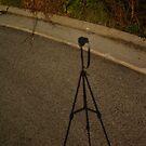 Pentax Selfie in Moon Light by jclegge