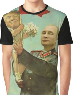 Trump Putin Graphic T-Shirt