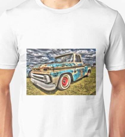 DJ's Surf Shop Chevy. Unisex T-Shirt