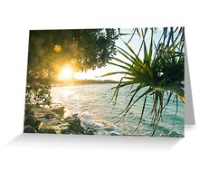 Last of the Days Rays Greeting Card