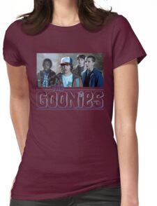Strange Goonies Womens Fitted T-Shirt