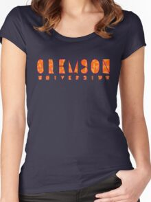 Clemson University Women's Fitted Scoop T-Shirt