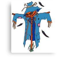 Original Scarecrow Design Canvas Print