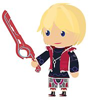 Chibi Shulk Vector Photographic Print