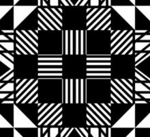 Geometric Design Sticker