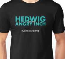 #DarrenIsHedwig Hedwig and the Angry Inch - Aqua Unisex T-Shirt