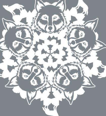 Wolf ZOOFLAKE Sticker