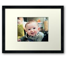 Cheeky Master Williams Framed Print