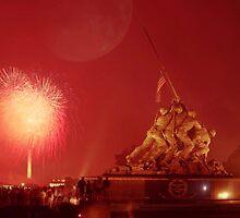 Iwo Jima Memorial _ Arlington National Cemetary by Matsumoto