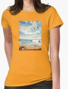 Trio Womens Fitted T-Shirt