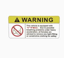 VTEC Warning Sticker, T-shirt, Phone Case T-Shirt