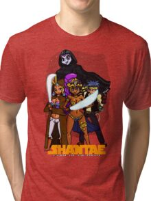 Shantae Wars Episode III:Curse Of The Pirate Tri-blend T-Shirt