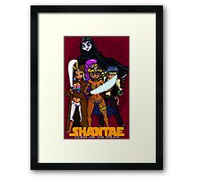 Shantae Wars Episode III:Curse Of The Pirate Framed Print