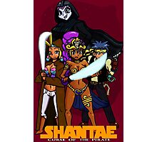 Shantae Wars Episode III:Curse Of The Pirate (UNOFFICIAL) Photographic Print