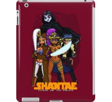 Shantae Wars Episode III:Curse Of The Pirate (UNOFFICIAL) iPad Case/Skin